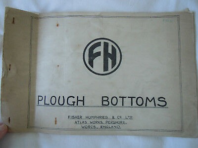 @Vintage Fisher Humphries Plough Bottoms Booklet@