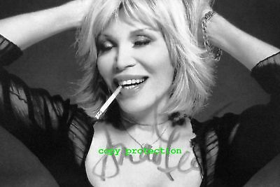 1886 Amanda Lear, Autogramm Foto, Follow Me, Queen of China-Town