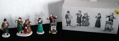 Department 56 ~ Chamber Orchestra ~ Set of 4