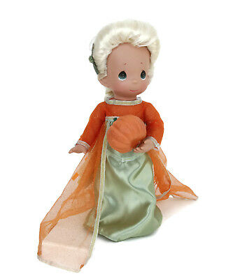 "Precious Moments Disney Parks Exclusive Elsa Frozen Boo Green Halloween 12"" Doll"