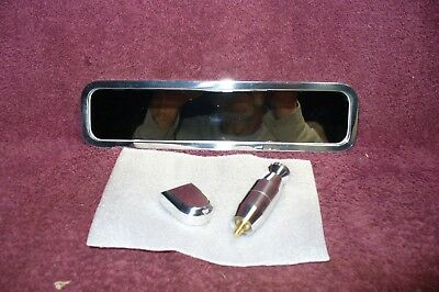 New Billet Ball Milled Style Full Size Rear View Mirror Auto Truk Part Accessory