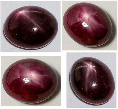 Antique 19thC 6ct Star Red Ruby Medieval Shaman Divination Gemstone