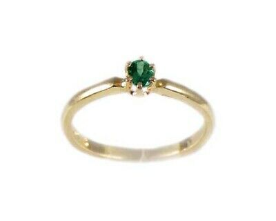 Antique Alexandrite 19thC Russia 14kt Gold Ring Natural ¼ct Color-Change Genuine