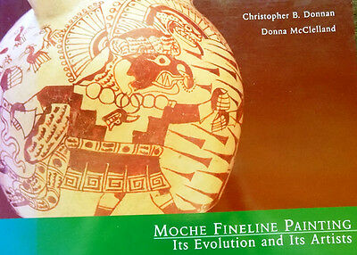 XL 1000Pix Ancient Peru Moche Fineline Painting Ceramics Art Sipan Tombs Jewelry