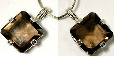 19thC Antique 8ct Scotland Cairngorm Smoky Quartz Ancient Babylon Rome Swiss Gem