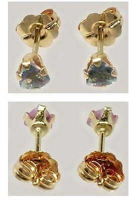 19thC Antique Fait Main ¼ Ct Véritable Naturel Russe Couleur Change Alexandrite
