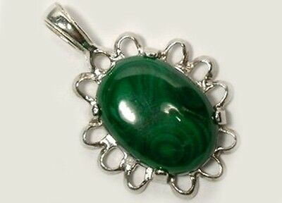 18thC Antique 15ct Malachite Ancient Roman Anti-Evil Talisman Gem of Venus Juno