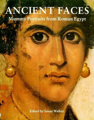 """Ancient Faces"" Roman Hellenic Greek Egypt Sarcophagus Panel Mummy Portraits Pix"