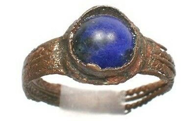 AD1100 Medieval Roman Byzantinische Ephesus Sz9¼ Ring + 1 ¾ Ct Afghan