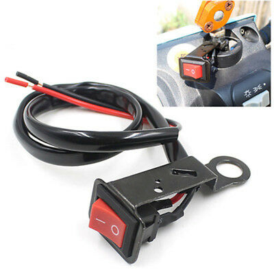 Waterproof Motorcycle Switch Headlight Handlebar Copper DC12V-24V Electric cars
