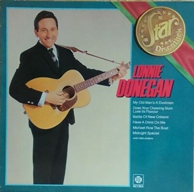 Lonnie Donegan Star Discothek NEW OVP Pye Vinyl LP
