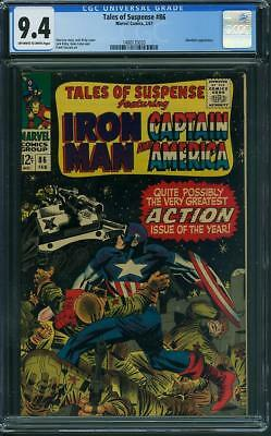 Tales of Suspense #86 CGC 9.4 OW/WH