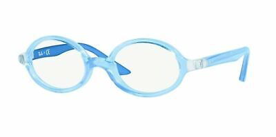 134bb0d795 Authentic Ray Ban Junior 0Ry1545 3772 Light Blue On Rubber Blue Eyeglasses