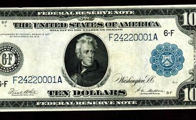 $10 1914 Federal Reserve Note ** MORE CURRENCY FOR SALE **