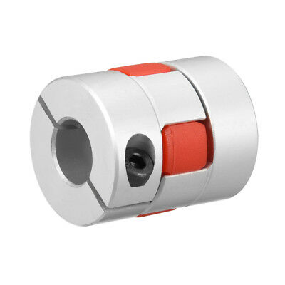 Shaft Coupling 12.7mm to 12.7mm Bore L35xD30 Flexible Coupler Joint for Motor