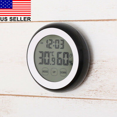 Wall Hanging Weather Thermometer Barometer Hygrometer Home Decor 3 in 1 US