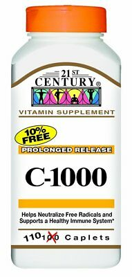 21st Century Vitamin C 1000 mg Prolonged Release Tablets 110 CT Healthy Immune