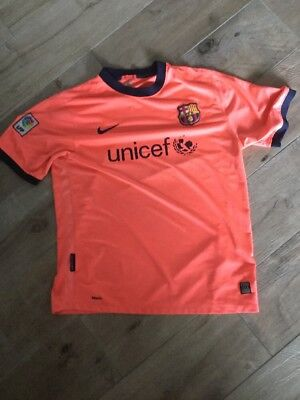 FC Barcelona Trikot Fußball Nike In XL Orange