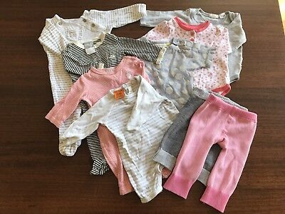 Baby Girl Clothes Size 000 Bundle