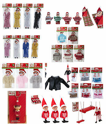 Elf Fashion Accessories Clothes Props Put On The Shelf Christmas Ideas Advent
