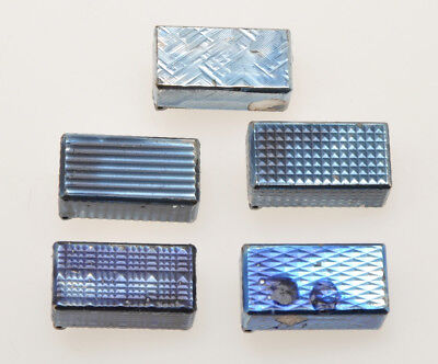 Dunhill lot of 5 different vintage Rollagas silver covers New Old Stock