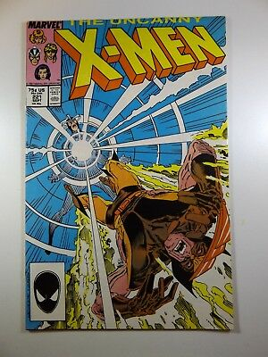 The Uncanny X-Men #221 1st Mr Sinister/Wolvie/Sabretooth Fight! Fine- Condition!