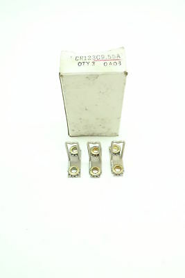 Box Of 3 New General Electric Ge CR123C9.55A Overload Heater Elements
