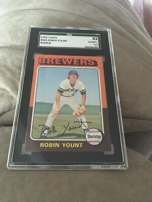 1975 Topps Robin Yount Milwaukee Brewers #223 Baseball Card