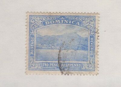 DOMINICA  60 1921 ultra Roseau used