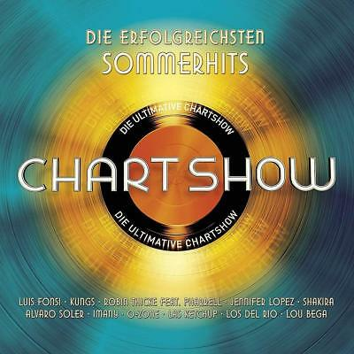 Die Ultimative Chartshow - Sommer Hits Luis Fonsi/Shakira/+   2 Cd Neu