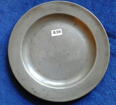 Antique Pewter Plate/charger Thomas Townsend Compton Circa 1801-1817 London