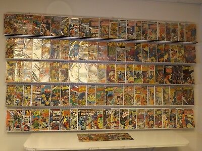 Huge Lot 110+ Silver/Bronze comics w/ Justice League of America, Superboy & more