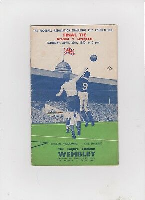 1950 F.A.Cup Final.Arsenal v Liverpool.