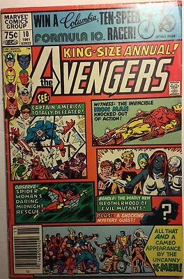 AVENGERS ANNUAL #10, ROGUE first appearance (1981) X-Men, Iron Man, Wolverine