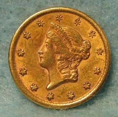 1851-O Liberty Head $1 GOLD Coin XF Details * US Coin