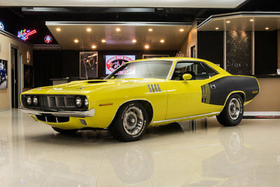 Plymouth Cuda 440 Six Pack Tribute Rotisserie Restored! 440ci Six Pack V8, A833 4-Speed, Dana 60 Posi, PS, PB