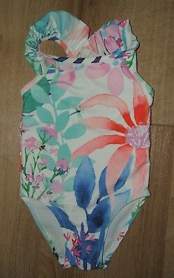 Next -  Baby Girl- Swimming Costume/swimsuit  - Size Age 6 - 9  Months