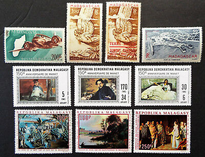 Better Mint Stamps From Madagascar $50 Value