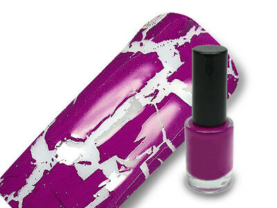 Crackle Lack Crackling Polish Nagellack 5ml in crazy purple