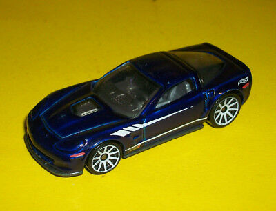 Hotwheels Green 09 2009 Chevrolet Corvette Zr 1 Made In Malaysia
