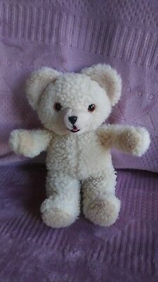 """Vtg Russ 1986 Snuggle Bear 10"""" Plush Toy Advertising Collectible 80s Lever Bros"""
