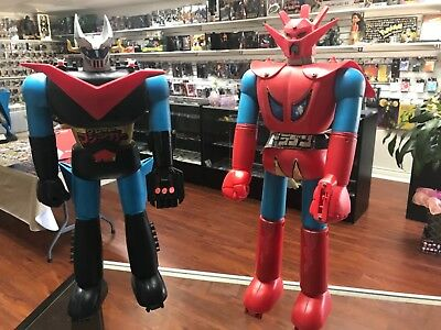 MAZINGER Z Bandai Figure SF Super Robot Anime Mazinga Toy Used Made in Japan
