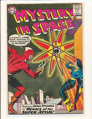 Mystery In Space # 56 - Adam Strange appearance VG/Fine Cond.