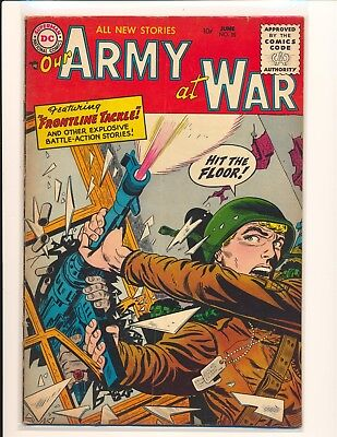 Our Army At War # 35 VG Cond.