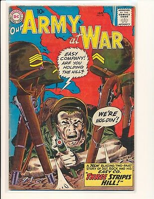 Our Army At War # 90 VG+ Cond.