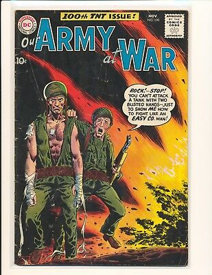 Our Army At War # 100 G/VG Cond.