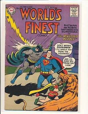 World's Finest Comics # 87 VG+ Cond.