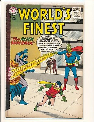 World's Finest Comics # 105 VG+ Cond.