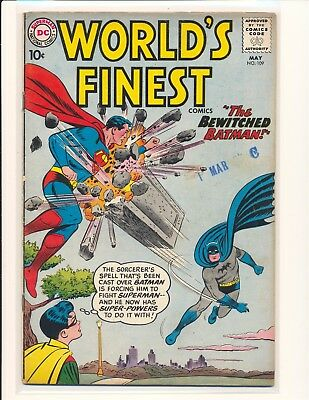 World's Finest Comics # 109 VG Cond.
