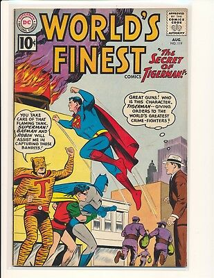 World's Finest Comics # 119 VG/Fine Cond.
